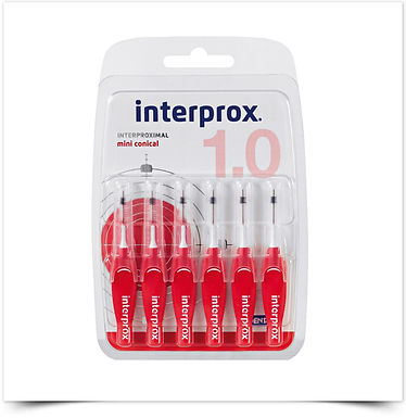 Escovilhões Interprox® Mini Cónico | 6 unidades