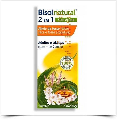 Bisolnatural 2 em 1 Xarope S/ Açúcar | 120 ml