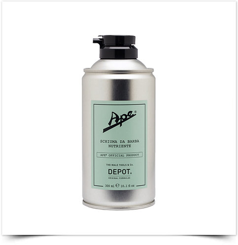 DEPOT APE ESPUMA DE BARBEAR NUTRIENTE 300ml