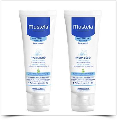 Mustela STELATOPIA® Creme Rosto Emoliente 40 ml Duo c/ Desconto 50% 2ª Unidade