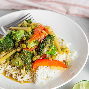 easy vegetable green curry