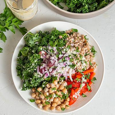 farro kale salad