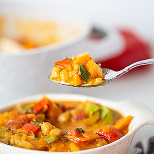 Sweet potato peanut stew