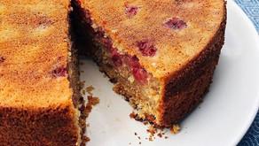 Raspberry & Rosemary Cake