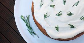 Carrot & Rosemary Cake