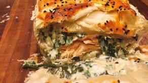 Salmon & Spinach Pie