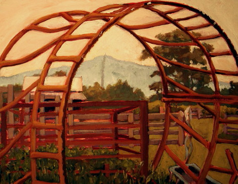 Hay Ring at Price's Farm