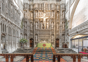 High Altar St Albans Abbey