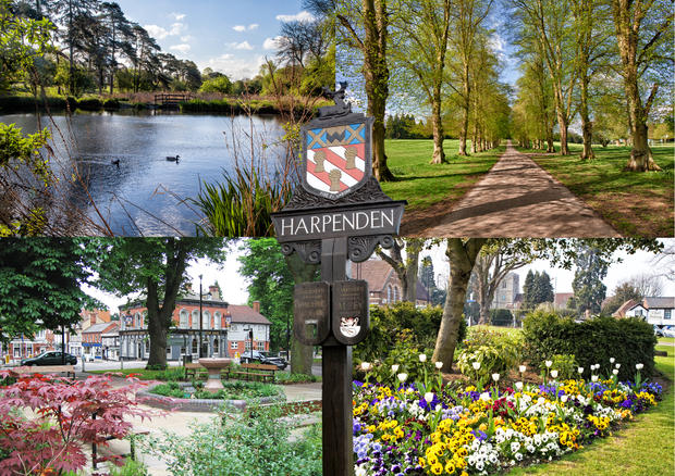 Harpenden in Spring