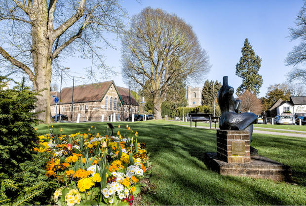 Church Green in the Spring 2