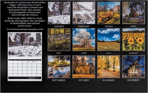 Harpenden Calendar 2021 (back)