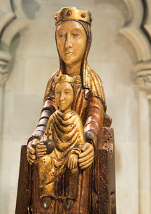 Madonna and Child, Lady Chapel