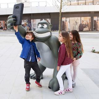 Gorille Selfie