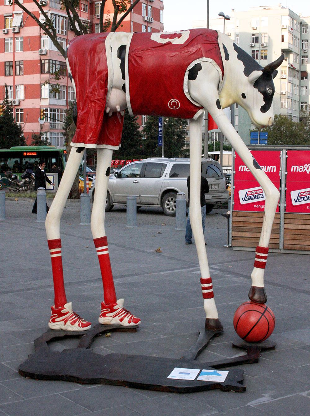 Basketbolcu İnek