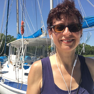 Carole Fontaine, author, sailor