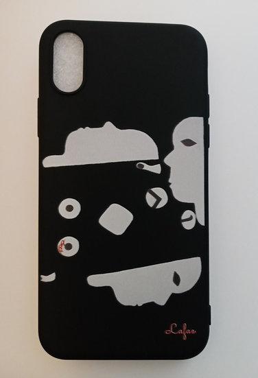 Faces 2, A Black IPone Case