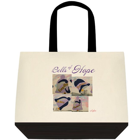 Bells Of Hope Cotton Tote