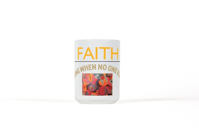 Faith Ceramic Mug