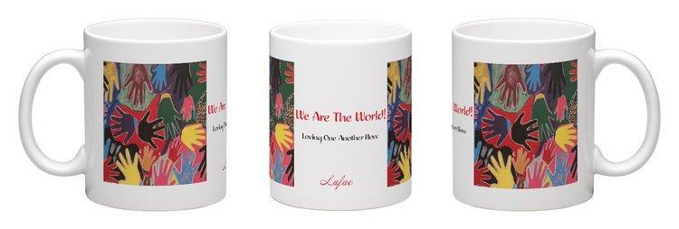 We Are The World Ceramic Mug