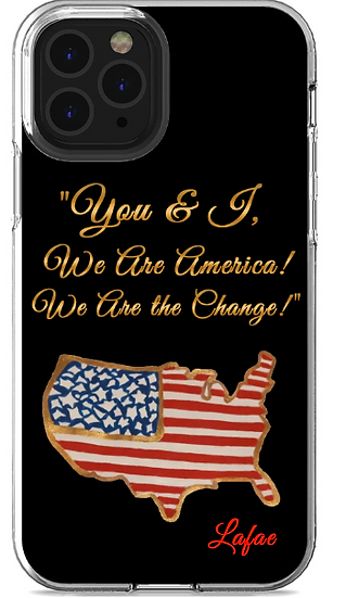 "Lafae, ""We Are America"" Samsung and LG Abstract Phone Case"