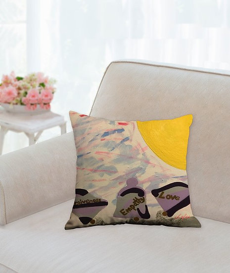 Pillow 3 Bells Forgiveness, Empathy, and Love
