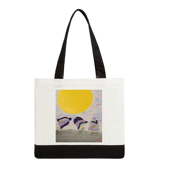 Tote bag two sided of Seven Bells of Hope