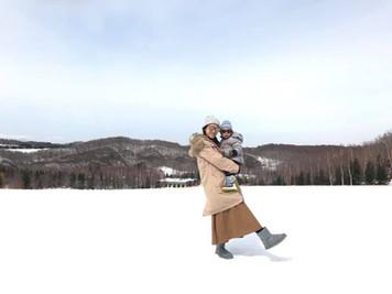 帶小孩體驗雪地假期的心得