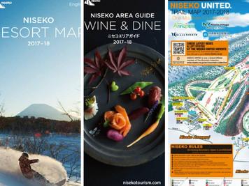 二世古滑雪場地圖及飲食指南