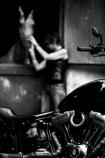 Laura biker