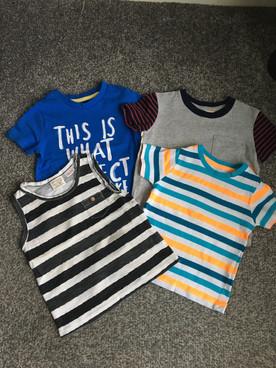 T-shirt bundle - size 12-18 - GAP, Zara, George