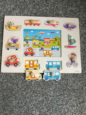 Puzzles - 2 pieces are slightly damaged