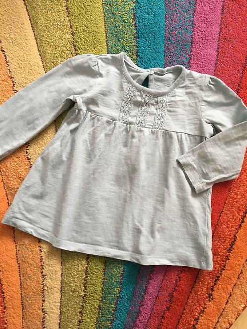 12-18 Pale green girl top