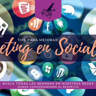 TIPS PARA MEJORAR MARKETING EN SOCIALMEDIA