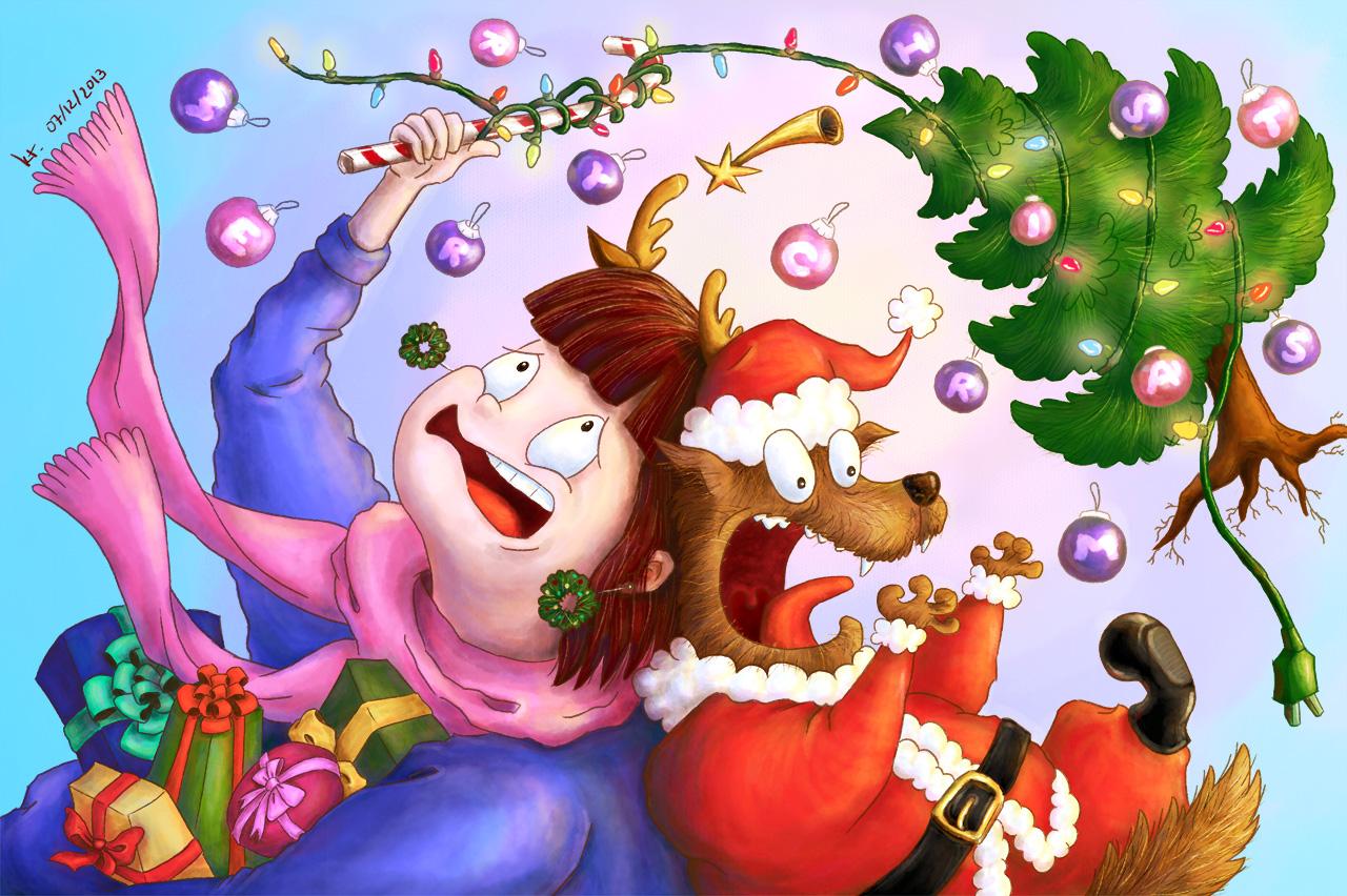 Christmas with Boule