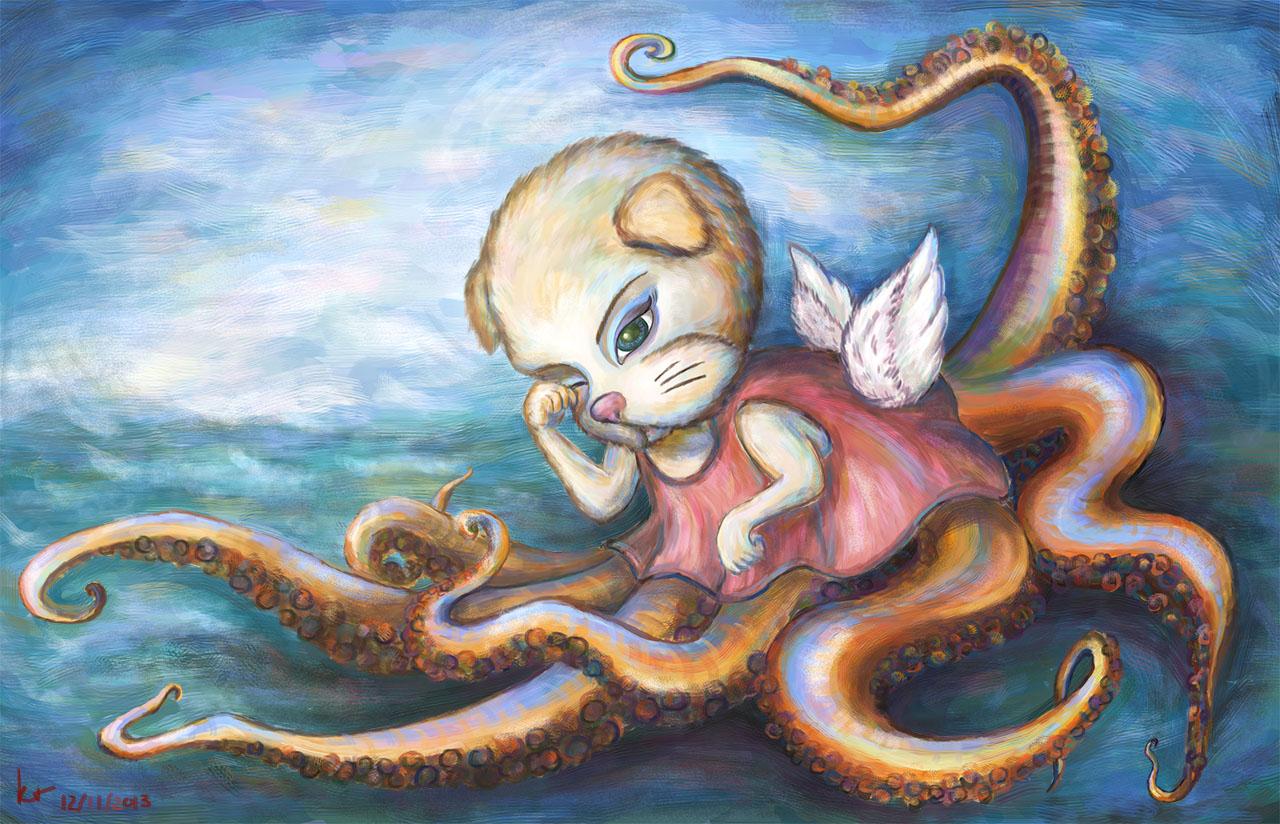 Sleepy Puppy Octopus