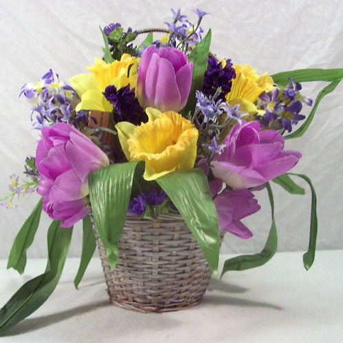 Spring in Basket