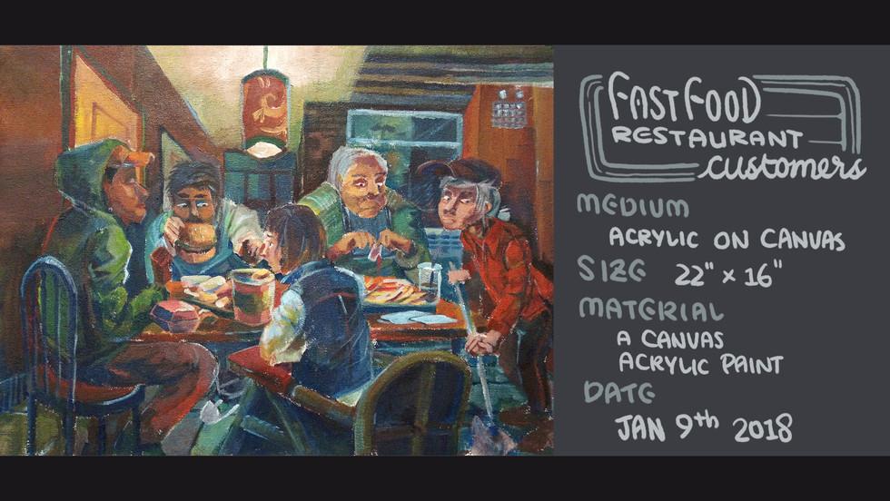 Fast Food Restaurant Customers by Bertram Lin
