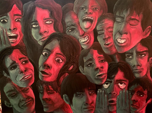 Many Faces of Anxiety by Lidia Meiorin