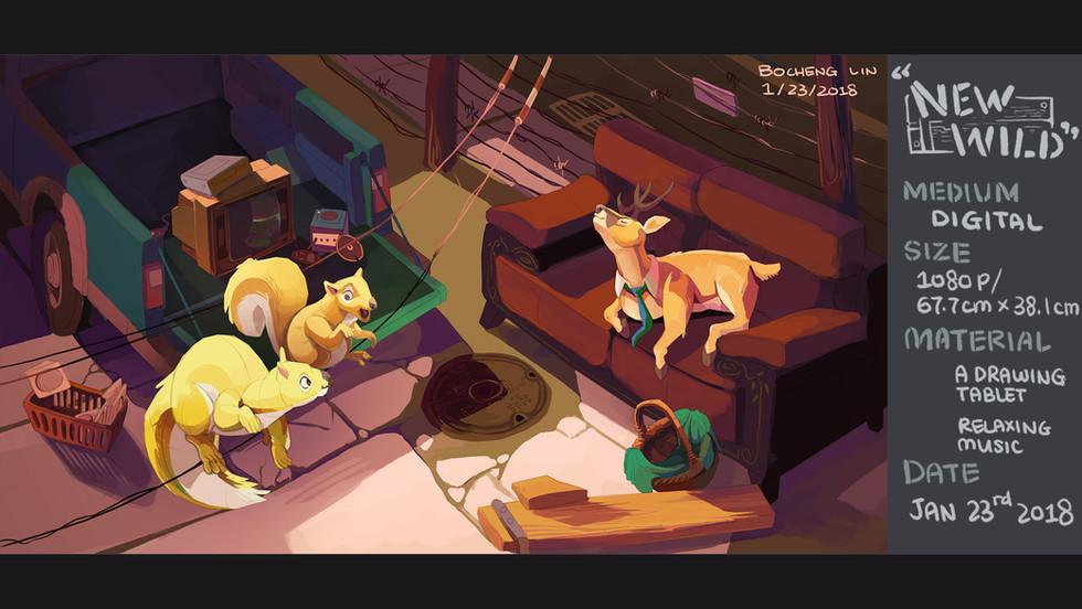 New Wild by Bertram Lin