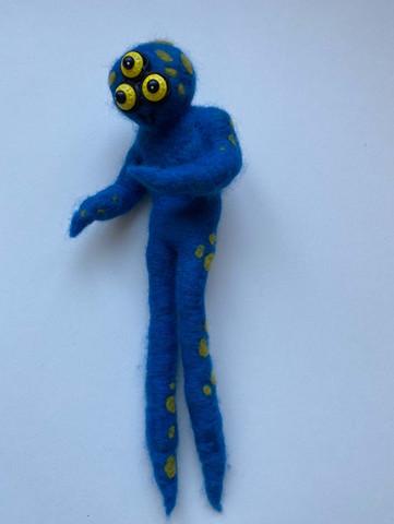 Dry Felted Monster by Lidia Meiorin.jpg