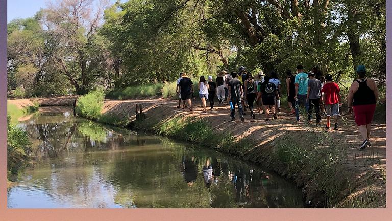 Los Ranchos Acequia - Walk & Talk