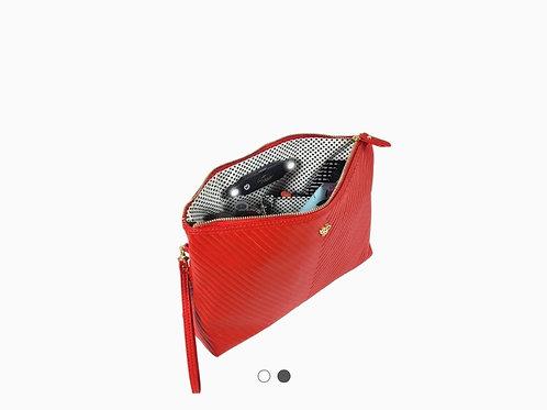Binyoka's Vegan  Leather Clutch Red