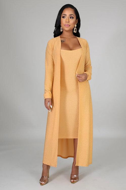 24 Karat Gold Dress Set