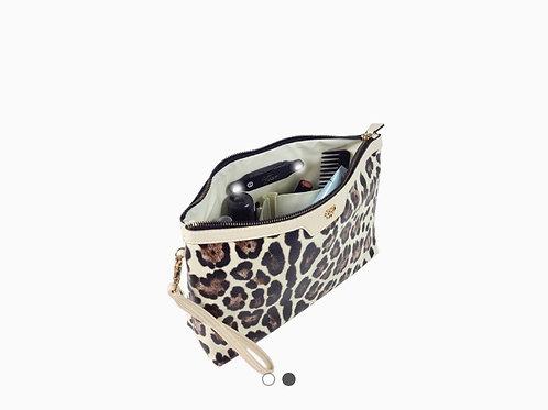 Binyoka's Vegan Leather Clutch Leopard