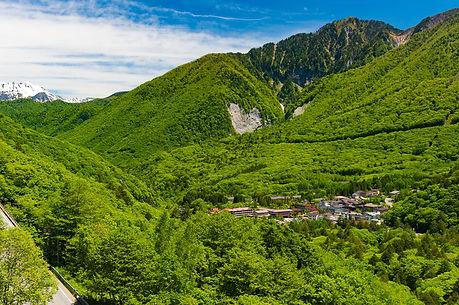 介護旅行 山の写真