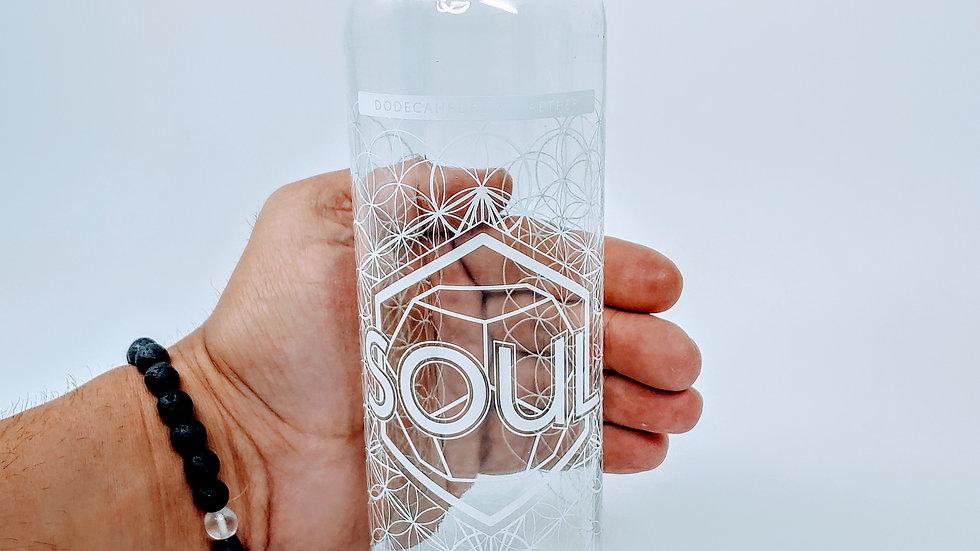 Soul Bottle - 18 oz Steel Cap Tall by Lucid Earth