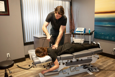 Spruce Grove Chiropractic Adjustment