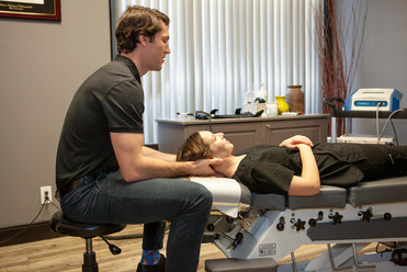Stony Plain Chiropractic Adjustment