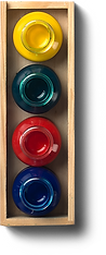 Box of paints, open alternate homepage