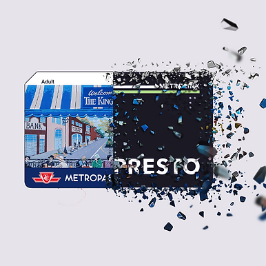 TTC Metropass transitioning into the PRESTO card